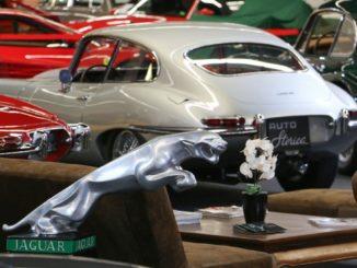Salón AutoRetro de coches clásicos en Barcelona.