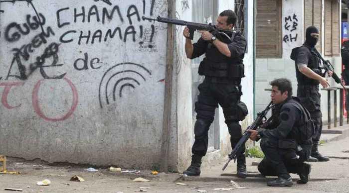 violencia favelas rio